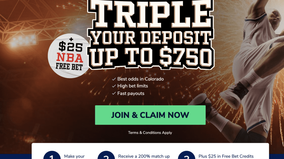 SportsBetting.com launches TRIPLE deposit offer for NBA season
