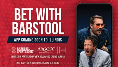 Photo of Barstool Sportsbook set to launch in Illinois on Thursday